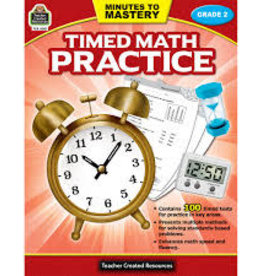 Teacher Created Resources Timed Math Practice Grade 2