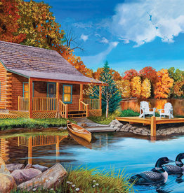 Cobble Hill 500 Piece Loon Lake