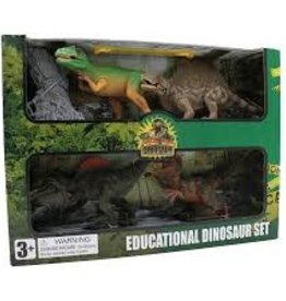 TEDCO Dinosaur Set of 4 Pack A
