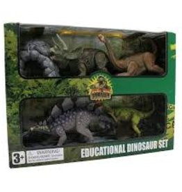 TEDCO Dinosaur Set of 4 Pack B