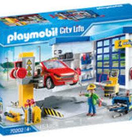 Playmobil Car Repair Garage 70202