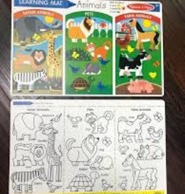 Melissa & Doug Animals Write-A-Mat