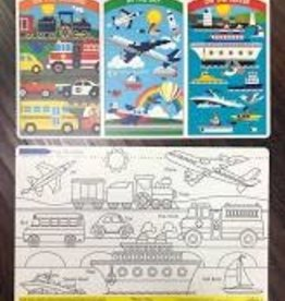 Melissa & Doug Vehicles Learning Mat