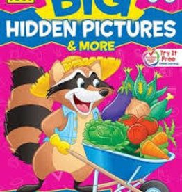 School Zone Big Hidden Picture Book