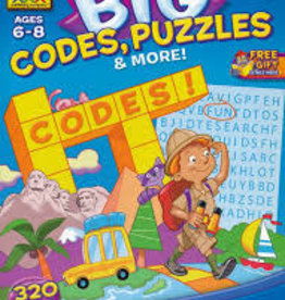 School Zone Big Codes, Puzzles, and More