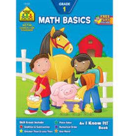 School Zone math basics 1st grade