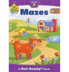 School Zone Mazes Preschool