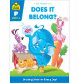 School Zone Does It Belong preschool