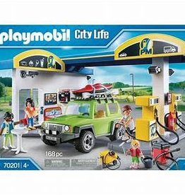 Playmobil Playmobil City Life Gas Station 70201