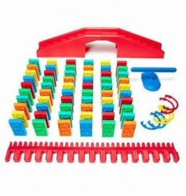 Atwood Toys ultimate kinetic domino toppling kit