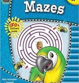 Teacher Created Resources Kindergarten Mazes