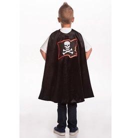 Little Adventures Pirate Cape & Mask Set