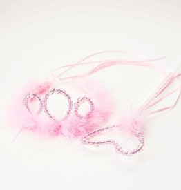 Little Adventures Wand and Tiara  Set Pink