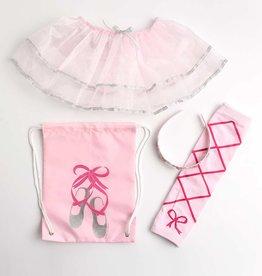Little Adventures Drawstring Backpack Ballerina Gift Set