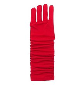 Little Adventures Princess Gloves Red