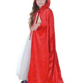 Little Adventures Child Cloak Red S/M