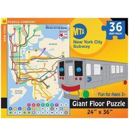 New York Puzzle New York Subway Map Kids 36 PCS