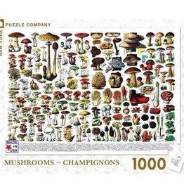 New York Puzzle Mushrooms - Champignons 1000 PCS