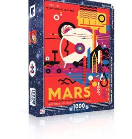 New York Puzzle Visit Mars 1000 PCS