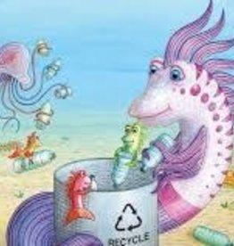 New York Puzzle Pout -Pout Fish: Ocean Cleanup 80 PCS