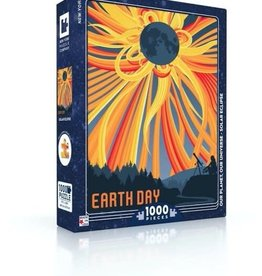 New York Puzzle Earth Day Solar Eclipse 1000 PCS