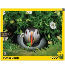 New York Puzzle Puffin Chick 1000 PCS