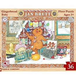New York Puzzle Gingerbread Baby 36 PCS