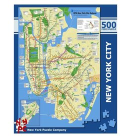 New York Puzzle New York City Subway 500 PCS