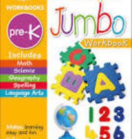 Pre-K Jumbo Workbook