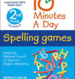 DK Children 10 Minutes a day Spelling Games 2nd grade