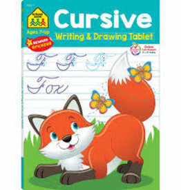 School Zone Cursive Writing and Drawing Tablet