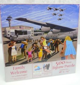 SunsOut Family Welcome 500 piece