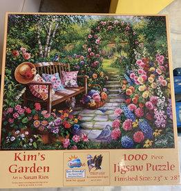 SunsOut Kims Garden 1000 piece