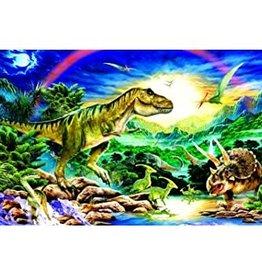 SunsOut Tyrannosaur 100 piece puzzle