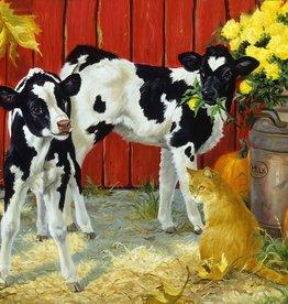 SunsOut Spilt Milk 25 large piece puzzle
