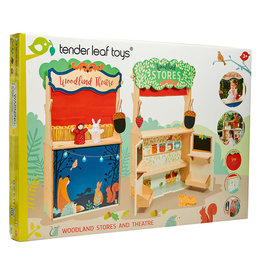 Tender Leaf Toys Woodland Store and Theatre