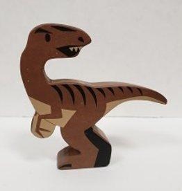 Tender Leaf Toys Wood Velociraptor