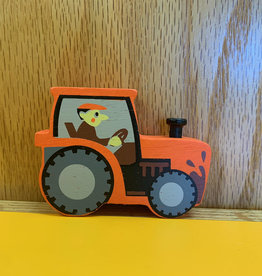 Tender Leaf Toys Orange Tractor
