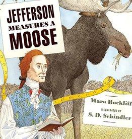 Candlewick Jefferson Measures a Moose