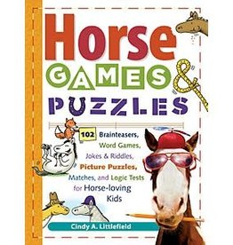 Storey Books HORSE GAMES & PUZZLES FOR KIDS
