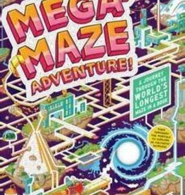 Workman Publishing Co Mega-Maze Book Adventure!