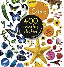 Workman Publishing Co Eyelike Stickers: Colors