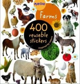 Workman Publishing Co Eyelike Stickers: On The Farm