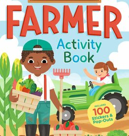 Workman Publishing Co I Want To Be A Farmer Activity Book