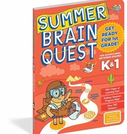 Brain Quest Summer Quest Kindergarten To 1St Grade