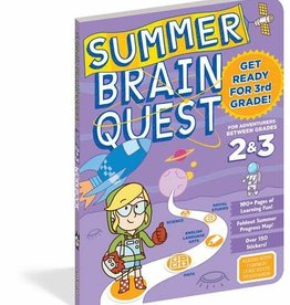 Brain Quest Summer Quest 2Nd To 3Rd Grade