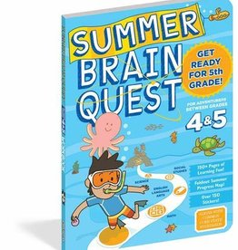 Brain Quest Summer Quest 3Rd To 4Th Grade