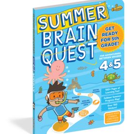 Brain Quest Summer Quest 4Th To 5Th Grade