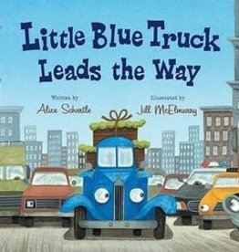 Houghton Mifflin Harcourt Publishing Company LITTLE BLUE TRUCK LEADS THE WAY