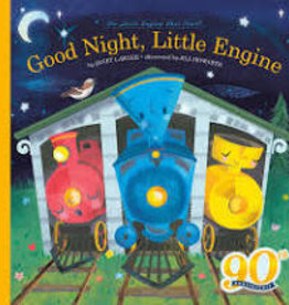 HMH Books Good Night, Little Engine by Janet Lawler